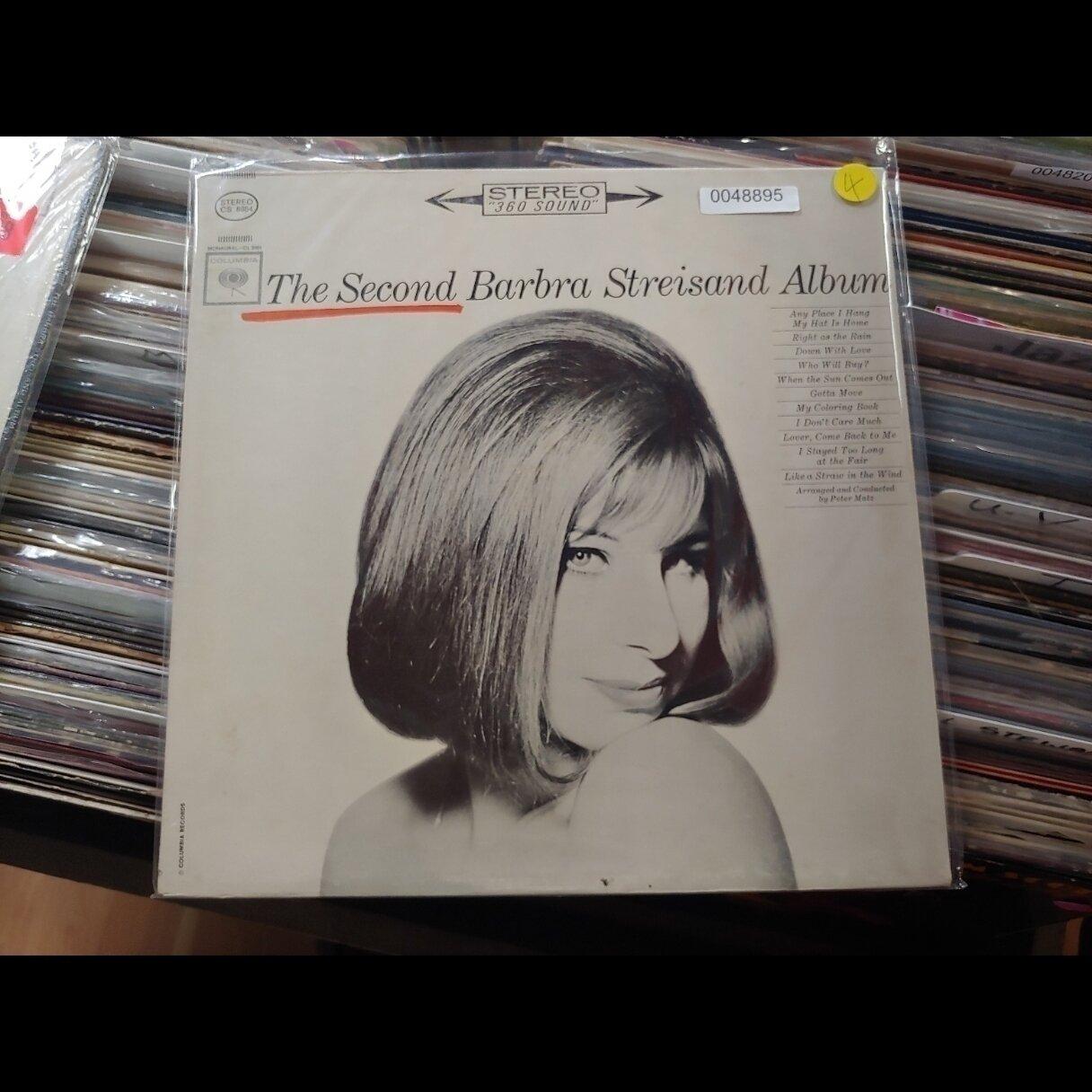 Streisand, Barbra Steisand- The Second Barbra Streisand album
