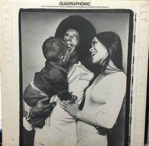 Sly & The Family Stone - Small Talk (Epic) LP, Album, Quad