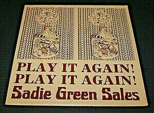 Sadie Green Sales���Play It Again! Play It Again!