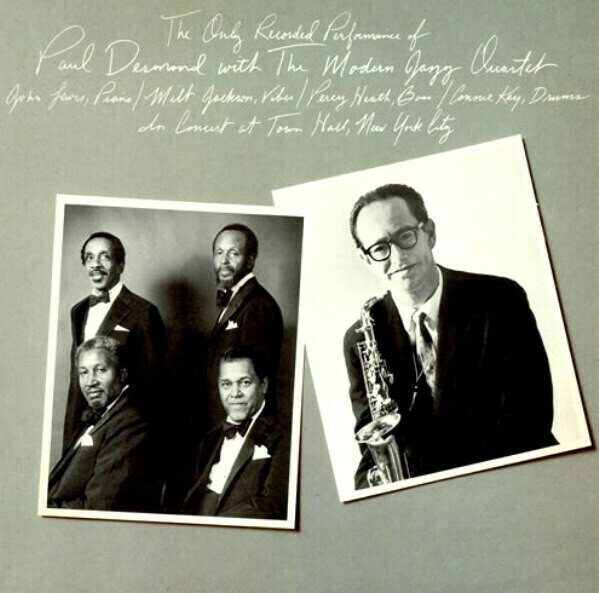 Paul Desmond With The Modern Jazz Quartet – The Only Recorded Performance Of Paul Desmond With The Modern Jazz Quartet