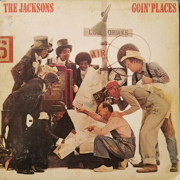 The Jacksons - Goin' Places Images