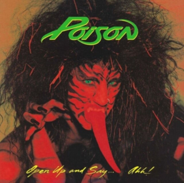 POISON / OPEN UP AND SAY... AHH! (LP)