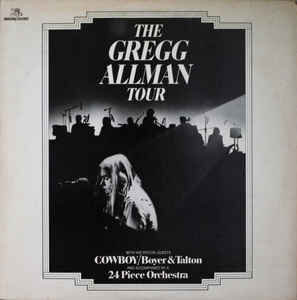 Gregg Allman With Cowboy / Boyer & Talton – The Gregg Allman Tour