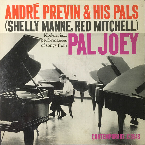 André Previn & His Pals – Modern Jazz Performances Of Songs From Pal Joey