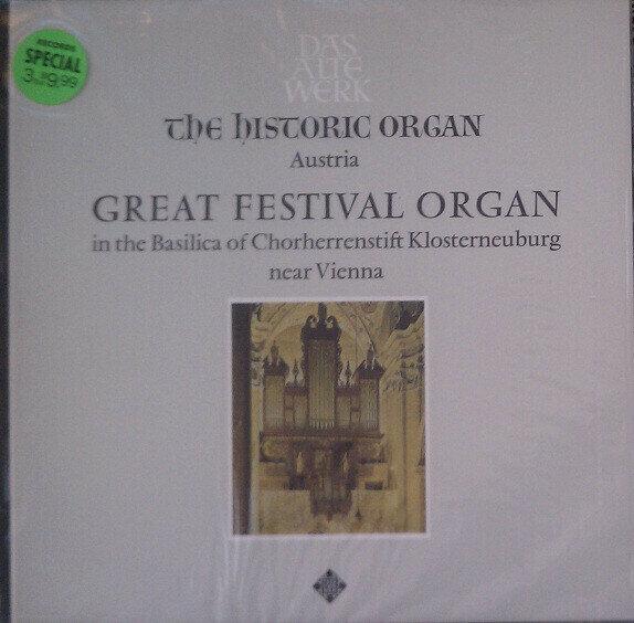 Herbert Tachezi – Austria: Great Festival Organ In The Basilica Of Chorherrenstift Klosterneuburg Near Vienna