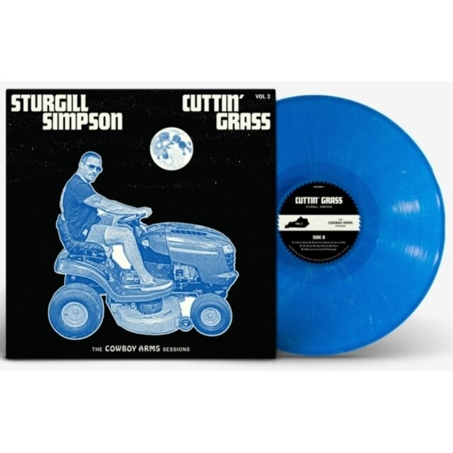 SIMPSON,STURGILL / CUTTIN' GRASS - VOL. 2 (COWBOY ARMS SESSIONS) (OPAQUE BLUE W/ WHITE SWIRL VINYL)