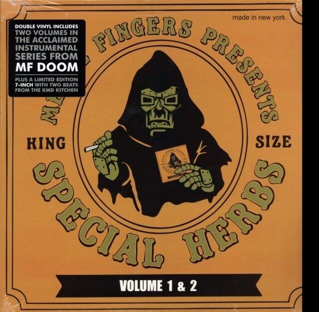MF DOOM / SPECIAL HERBS VOLUMES 1 & 2  (2LP/7INCH/ORANGE COVER)