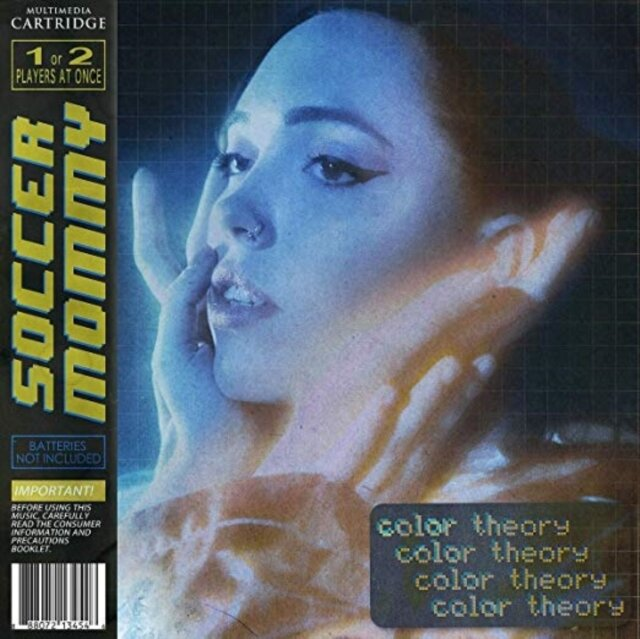 SOCCER MOMMY / COLOR THEORY (YELLOW/GREY/BLUE MIX VINYL) (X) (I)