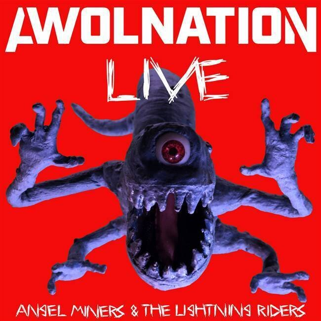 AWOLNATION / ANGEL MINERS & THE LIGHTNING RIDERS LIVE FROM 2020 (RED & BLUE TIE DYE VINYL) (RSD)