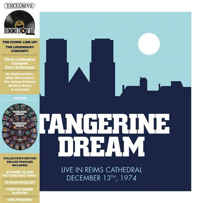 TANGERINE DREAM / LIVE AT THE REIMS CATHEDRAL (2LP) (RSD)