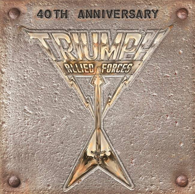 TRIUMPH / ALLIED FORCES 40TH ANNIVERSARY (PICTURE DISC OF ORIGINAL ALLIED FORCES/7INCH) (RSD)