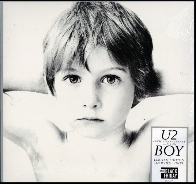 U2 / BOY - 40TH ANNIVERSARY EDITION (WHITE VINYL) (RSD)