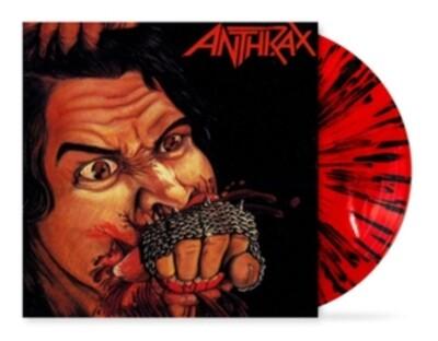 ANTHRAX / FISTFUL OF METAL (RED WITH BLACK SPLATTER VINYL)