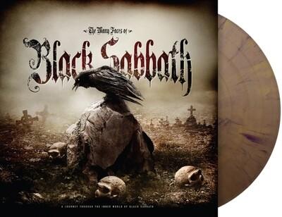 BLACK SABBATH / MANY FACES OF BLACK SABBATH (LIMITED GOLD/BLACK SPLATTER VINYL)