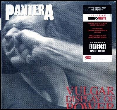 PANTERA / VULGAR DISPLAY OF POWER