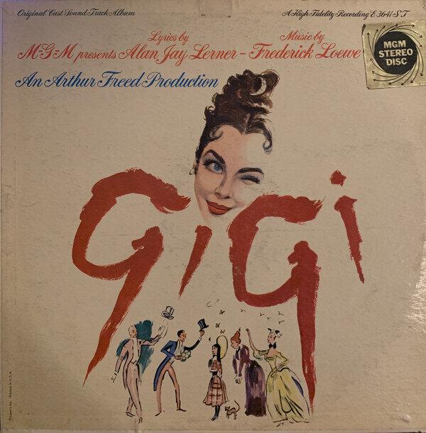 """Various – """"Gigi"""" - Original Cast Sound Track Album"""