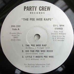 Various – The Pee Wee Raps