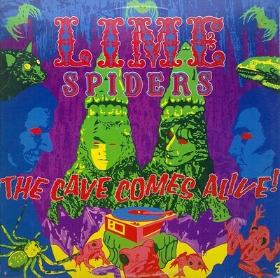 The Lime Spiders – The Cave Comes Alive!