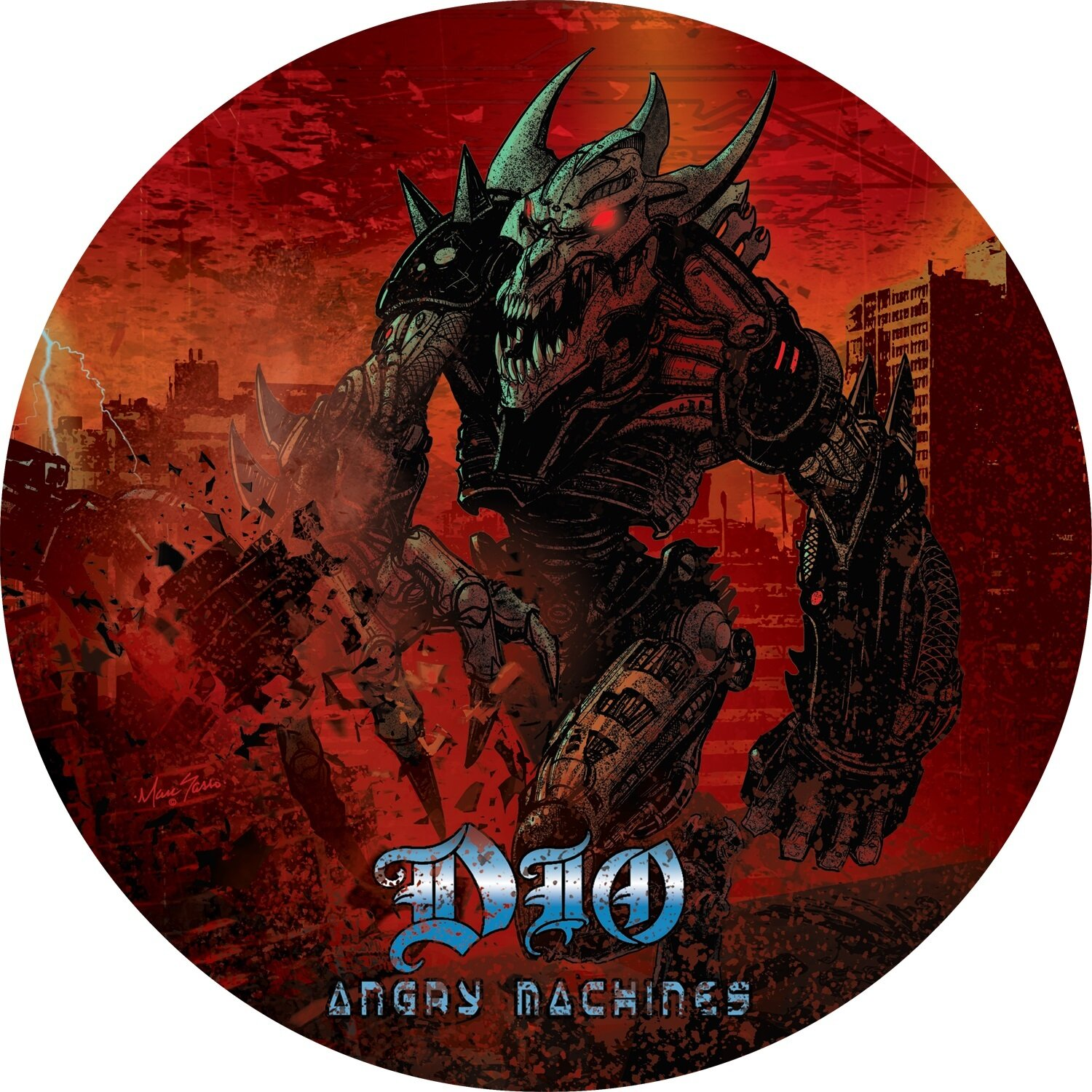 DIO / GOD HATES HEAVY METAL (LIMITED EDITION/PICTURE DISC) (RSD)