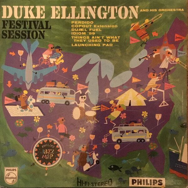 Duke Ellington And His Orchestra – Festival Session