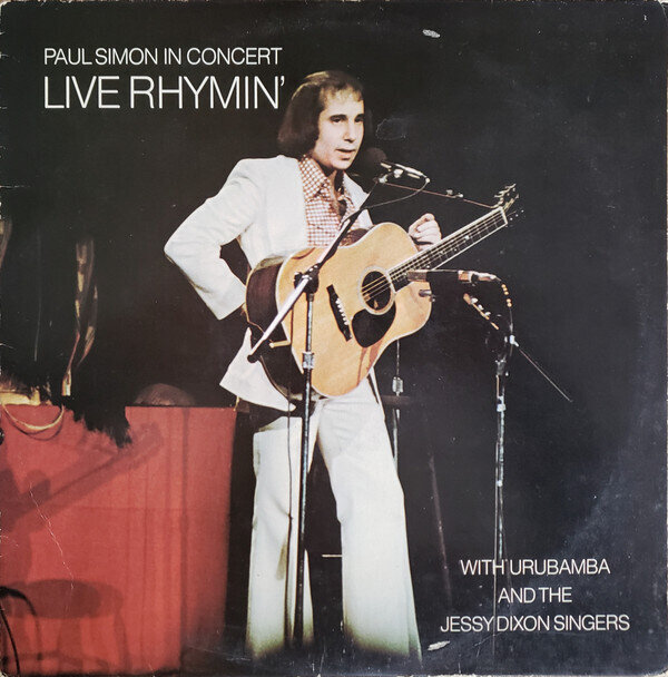 Paul Simon With Urubamba And The Jessy Dixon Singers – Paul Simon In Concert Live Rhymin'