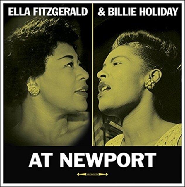 FITZGERALD,ELLA / HOLIDAY,BILLIE / AT NEWPORT