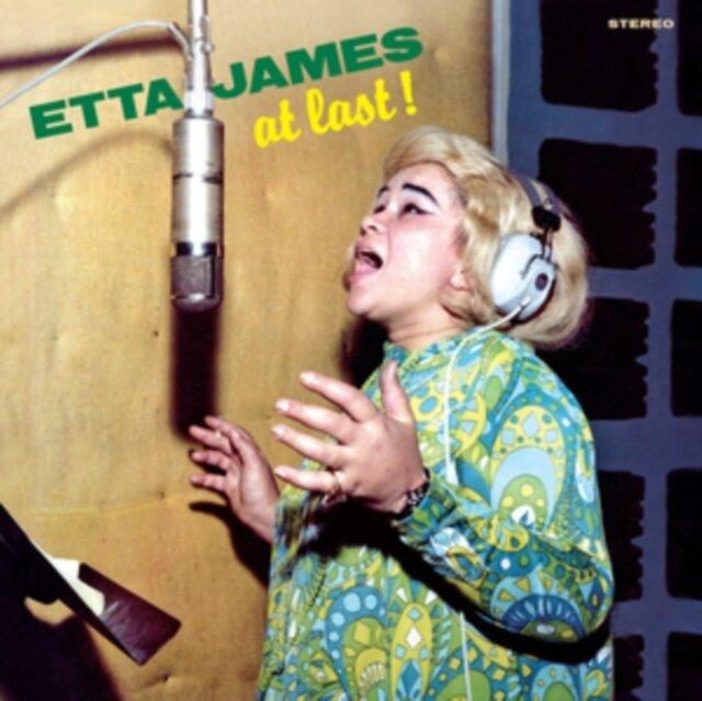 JAMES,ETTA / AT LAST! (GREEN VINYL)
