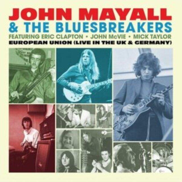 MAYALL,JOHN & THE BLUESBREAKERS / EUROPEAN UNION (LIVE IN THE UK & GERMANY) (LIGHT BLUE VINYL/LIMITE
