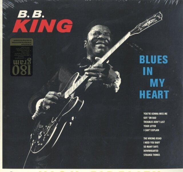 KING,B.B. / BLUES IN MY HEART (LIMITED 180G/DMM)