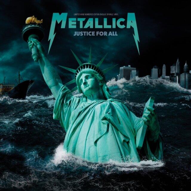 METALLICA / JUSTICE FOR ALL - LIVE BROADCAST WOODSTOCK 1994 - BLUE VINYL