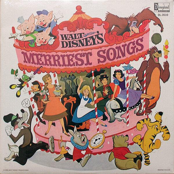 Various – Walt Disney's Merriest Songs