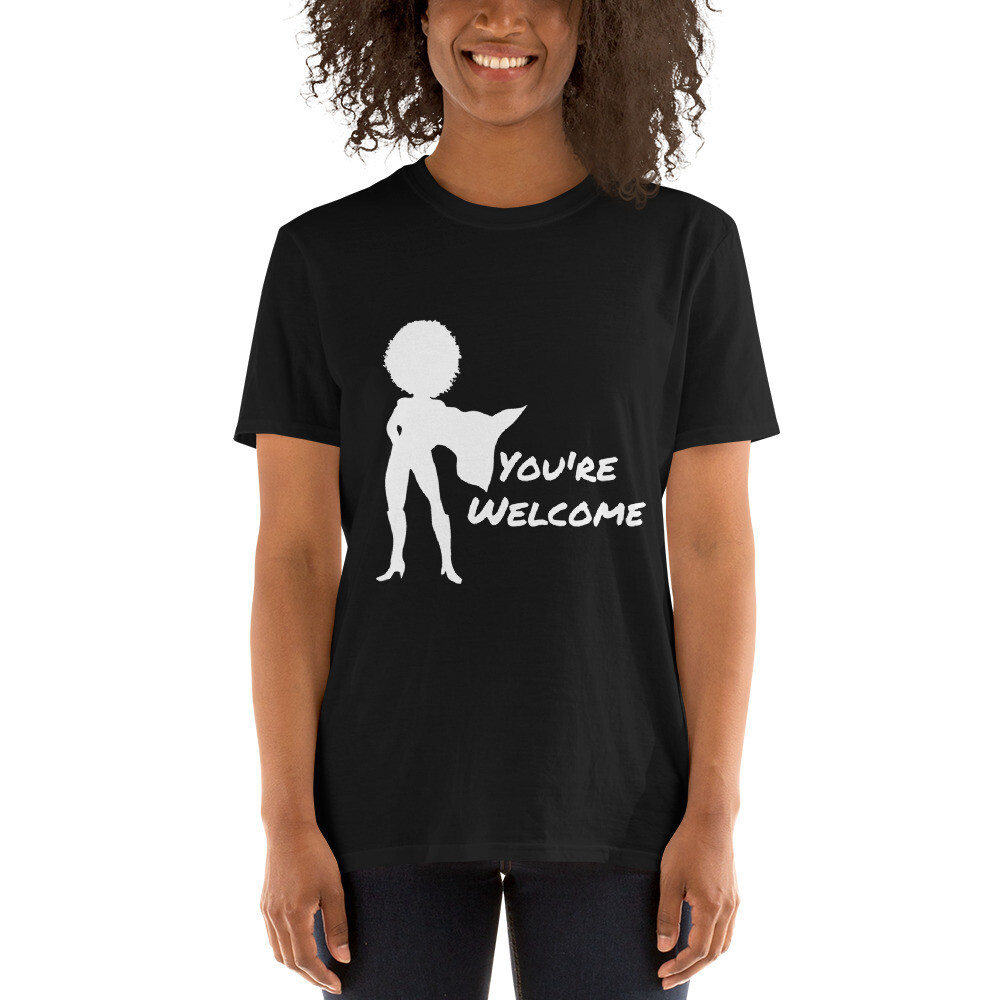 You're Welcome Short-Sleeve Unisex T-Shirt