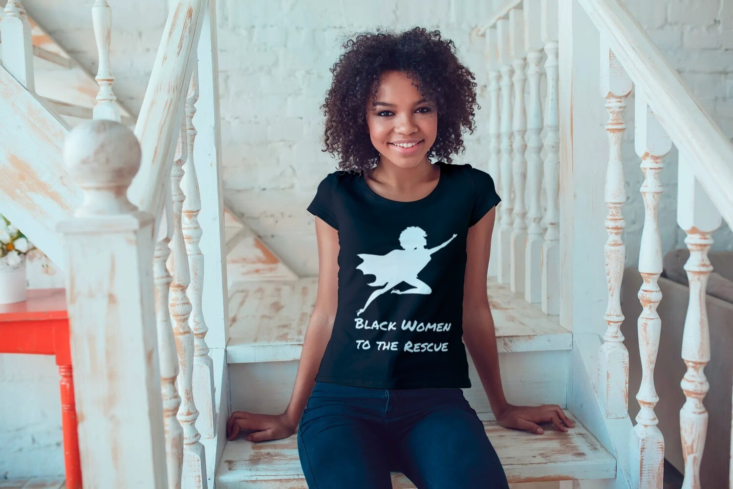 Black Women to the Rescue Short-Sleeve Unisex T-Shirt