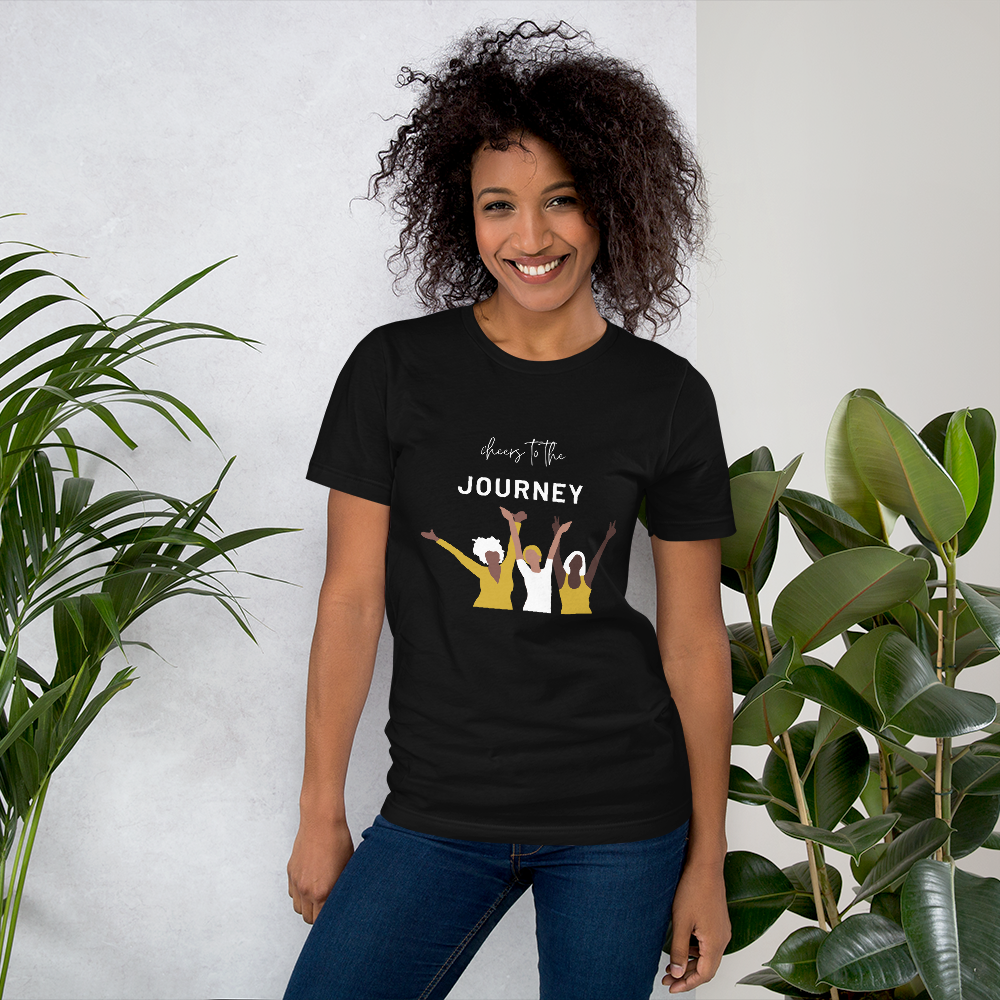 Cheers to the Journey! Short-Sleeve T-Shirt