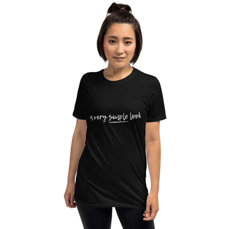 A very simple look. Short-Sleeve T-Shirt