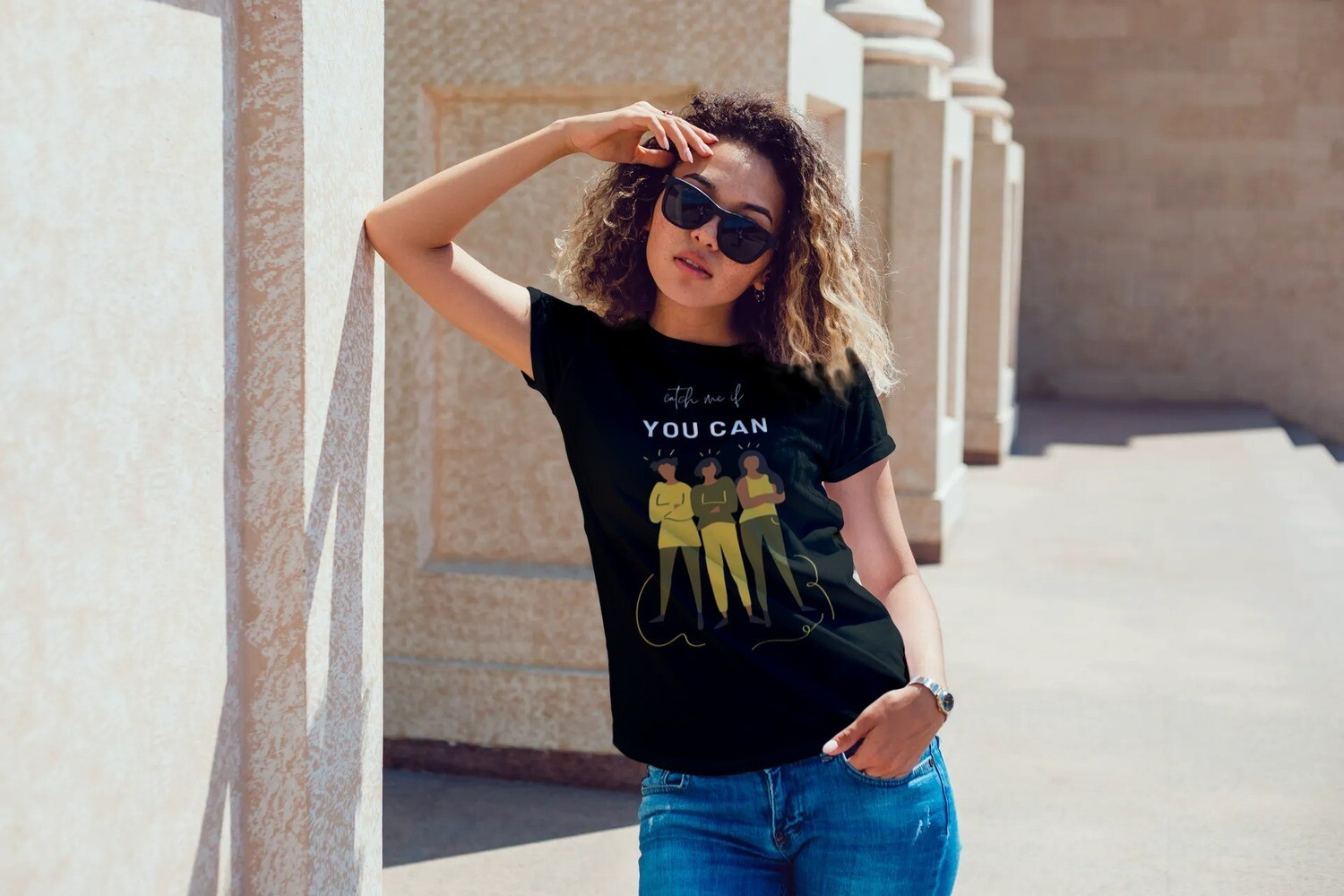 Catch Me if You Can! Short-Sleeve T-Shirt