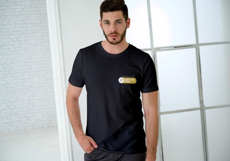 Airplane Mode Short-Sleeve Unisex T-Shirt