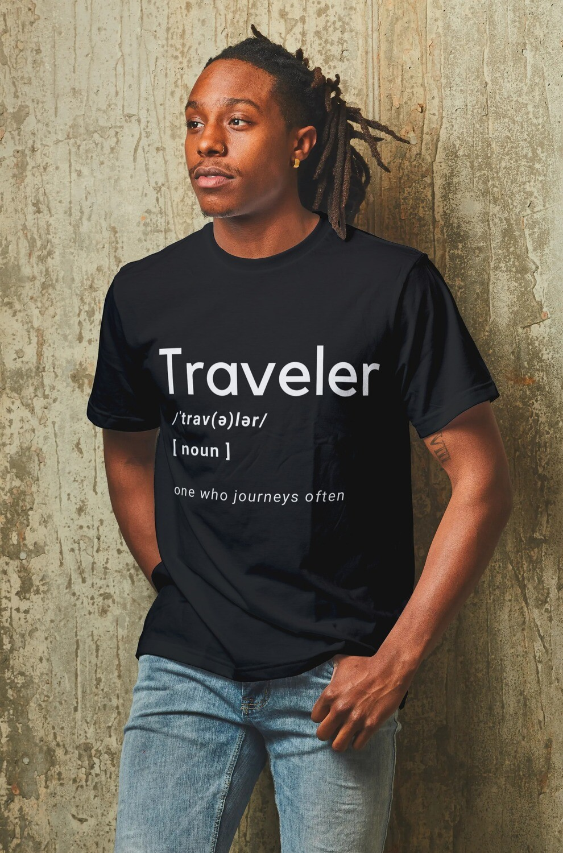 Traveler Jumbo Text Short-Sleeve T-Shirt