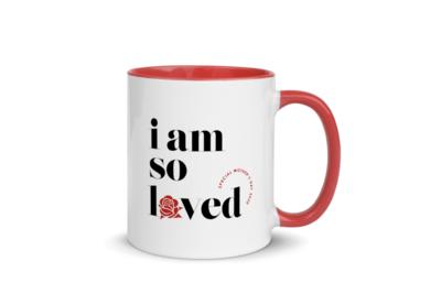 I AM SO LOVED COFFEE MUG