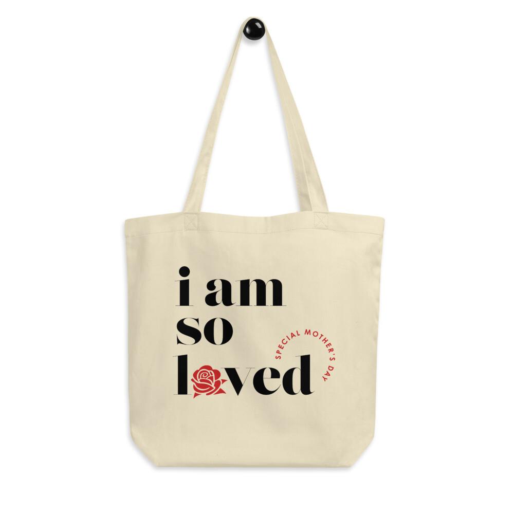I AM SO LOVED ECO TOTE BAG