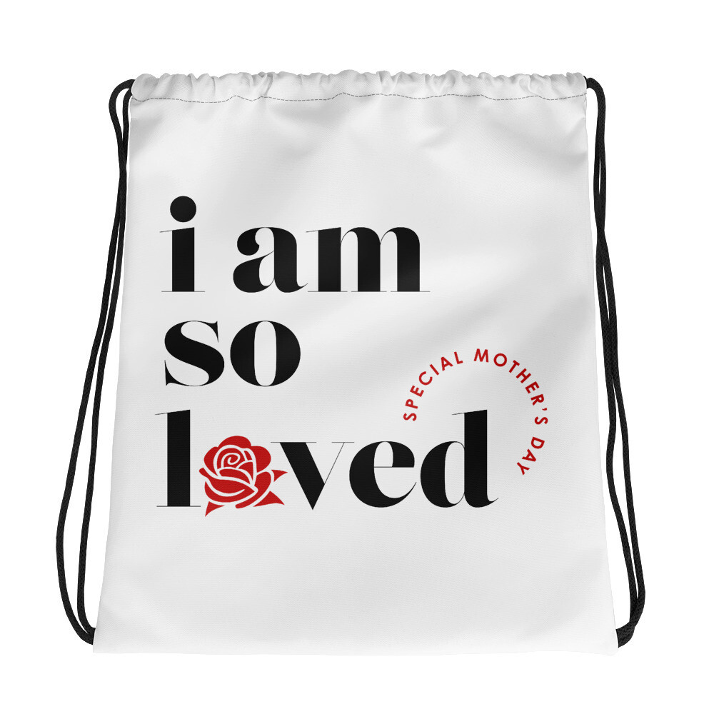 I AM SO LOVED 2020 DRAW STRING BAG