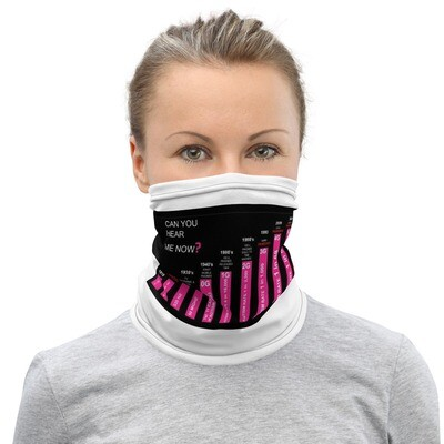 CAN YOU HEAR ME NOW  MASK/NECK GAITER