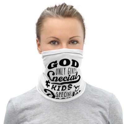 GOD ONLY GIVES MASK/NECK GAITER