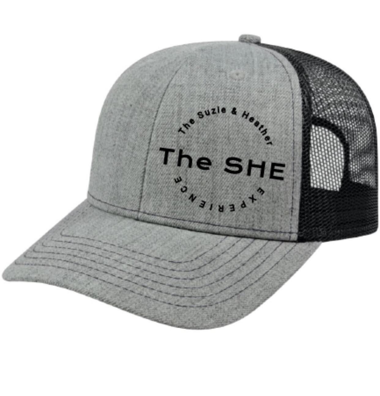 The SHE Classic Cap Grey/Black