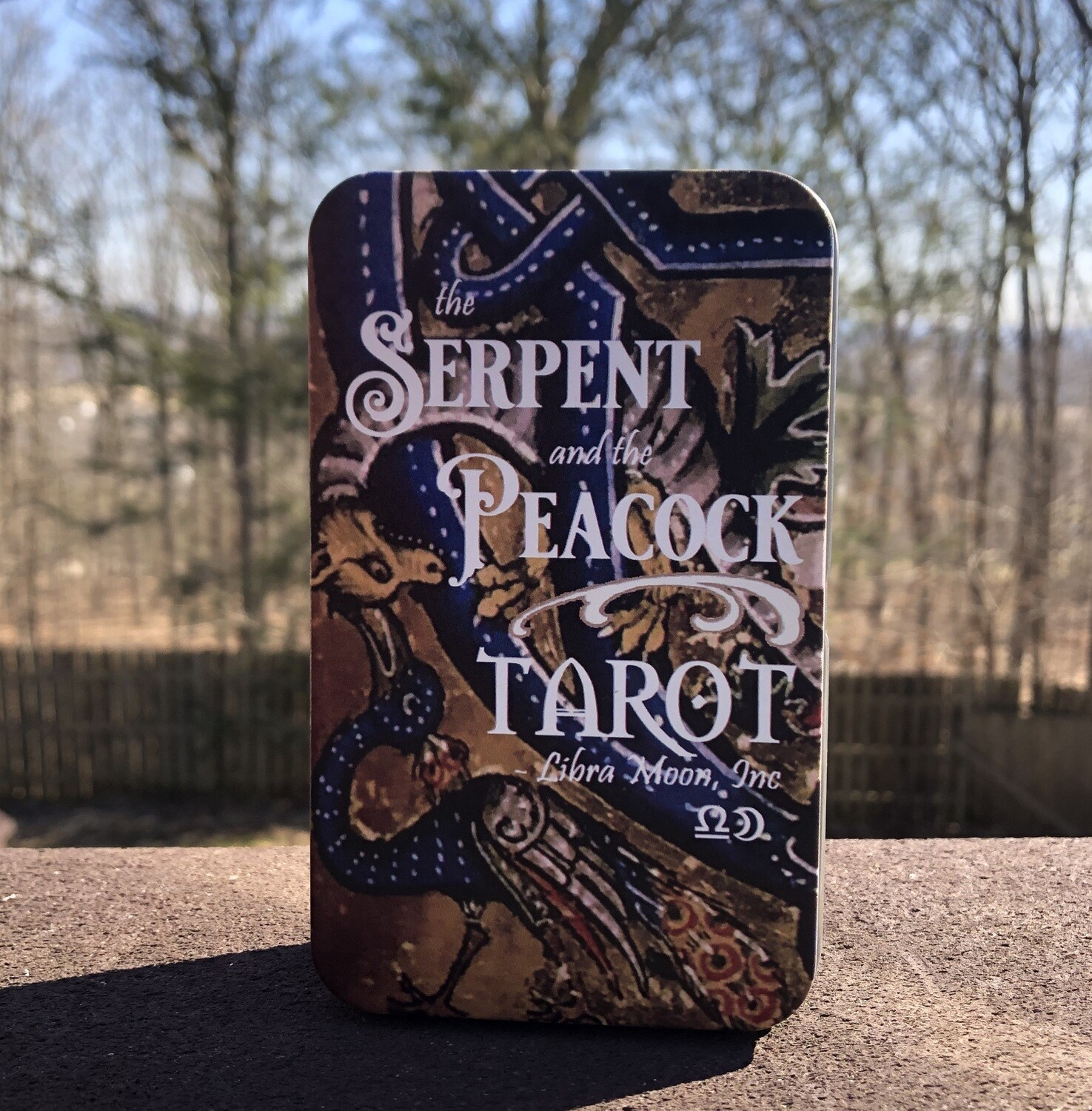 Serpent and the Peacock Tarot in a Tin - Wholesale