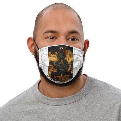 Premium face mask - Tarot; The Devil