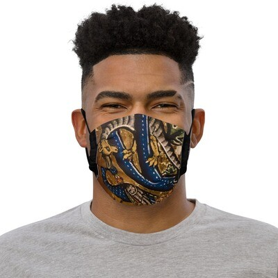 Premium face mask - Serpent and the Peacock Tarot