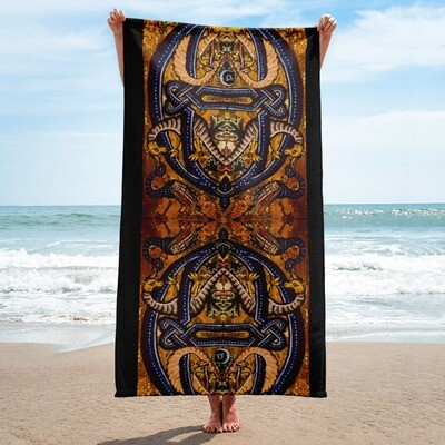 Towel - Serpent and the Peacock Tarot
