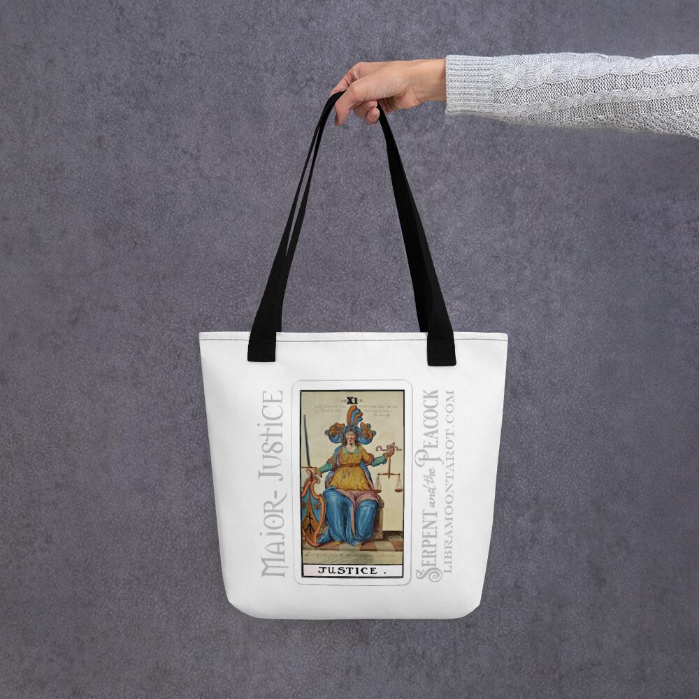 Tote bag - Tarot; Justice