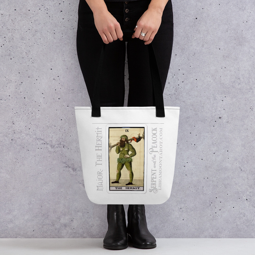 Tote bag - Tarot; The Hermit
